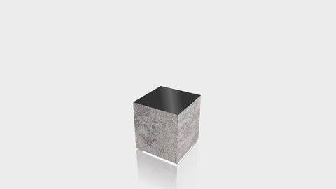RECTANGLE - Elemental Concrete Base + Black Top