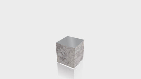 RECTANGLE - Elemental Concrete Base + Mouse Grey Top