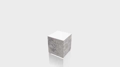 RECTANGLE - Elemental Concrete Base + White Top