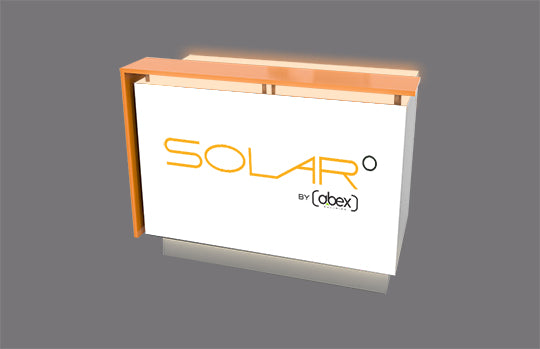 Solar A Uplit Reception Counter