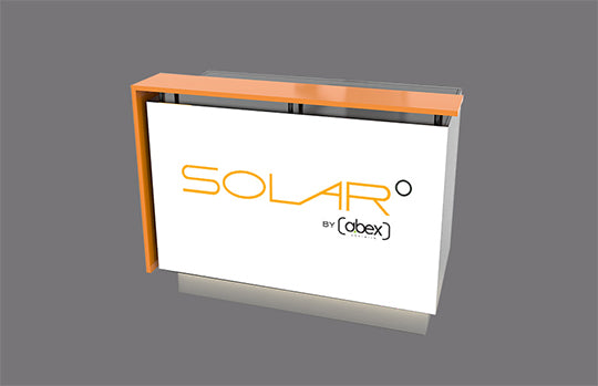 Solar A Reception Counter
