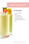 Mango Sunrise Smoothie Recipe