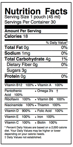 Assurance Nutrition Facts