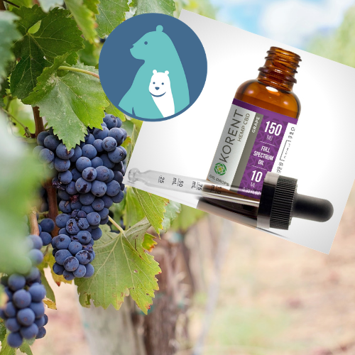 Grape Flavored Full Spectrum CBD Oil from Hemp