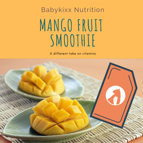 Mango, Fruit Smoothie Vitamins For Couples (30 ready-to-eat pouches)