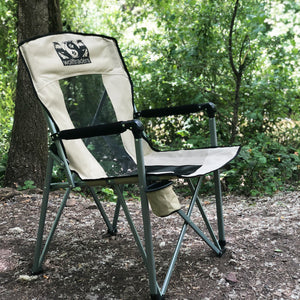 Wolf Traders Chil'Bak Camping Chair Side View