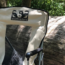 Mesh High Back Wolftrader Chil'Back Camping Chair