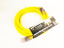 25' 12-Gauge SJTW Contractor Grade ETL Listed Lighted End Extension Cord
