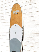 11' Full Bamboo Premium SUP Paddleboard with Fins & Leash