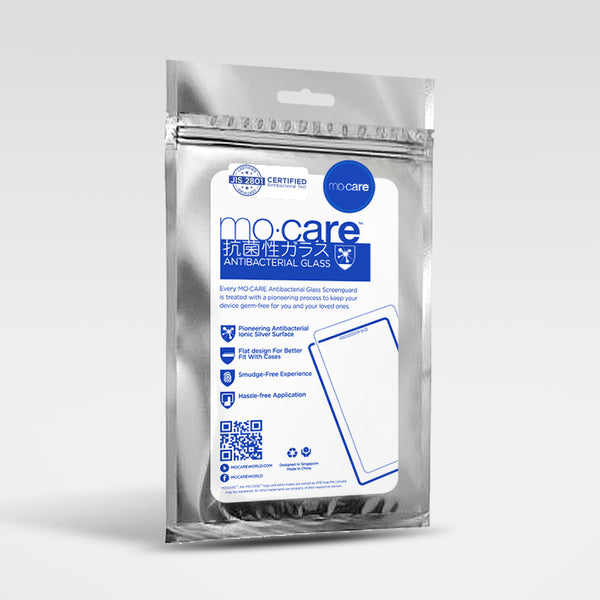 Mo.Care™ iPhone Antibacterial Tempered Glass Protector