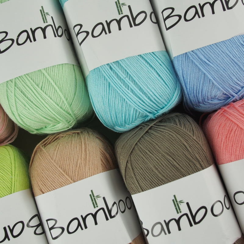 Bamboo Cotton Yarn 100g (28 colours) - Oz Yarn