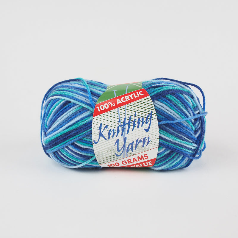 Yatsal Knitting Yarn 8 ply 100g - Multicolour (31 colours available) - Oz Yarn