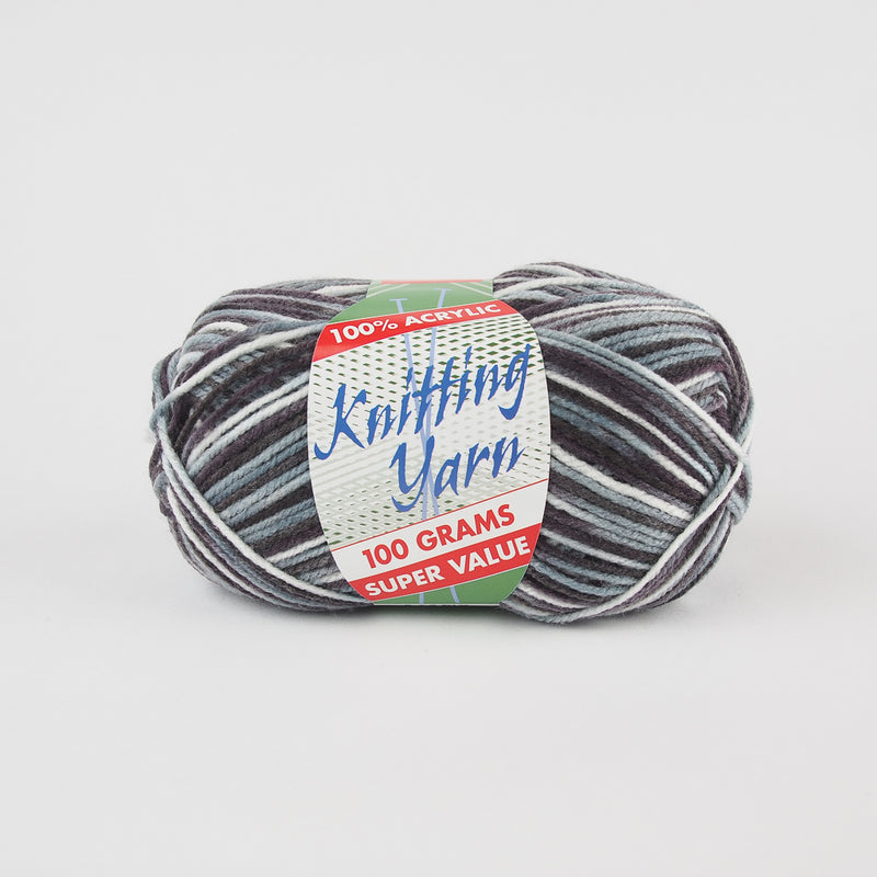 Yatsal Knitting Yarn 8 ply 100g - Multicolour - Oz Yarn