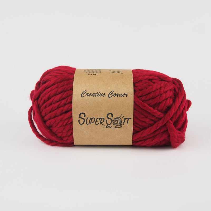 Creative Corner Supersoft Chunky Yarn (12 colours available) - Oz Yarn