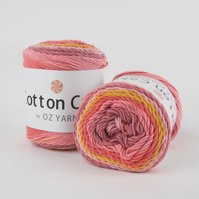 Cotton Yarn Cakes 100g - Oz Yarn