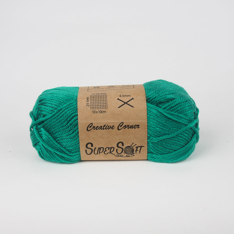 Creative Corner Super Soft yarn 8 ply 100g (35 colours available) - Oz Yarn