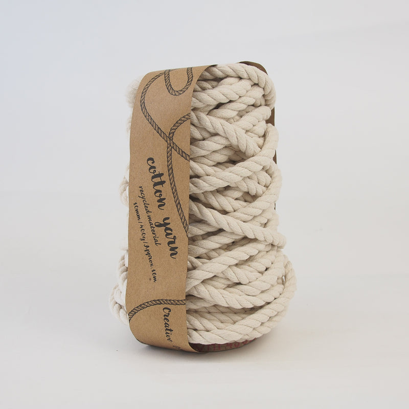 Creative Corner Macrame Cotton Rope 400g - Recycled material