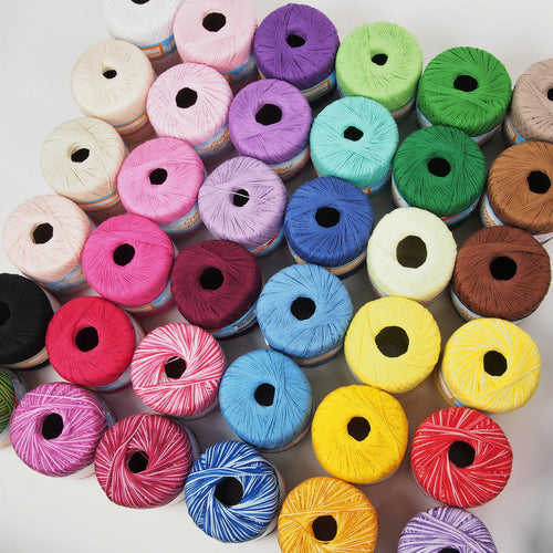Crochet Cotton 50g 100% Soft Cotton