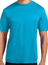 Adult Dri-Fit T-Shirt with PCE Logo (Available in Atomic Blue, Kelly Green and Black)