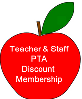 Special PCE Teacher/Staff PTA Membership (Car Magnet Not Included)