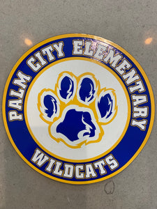 Car Magnet with PCE Logo