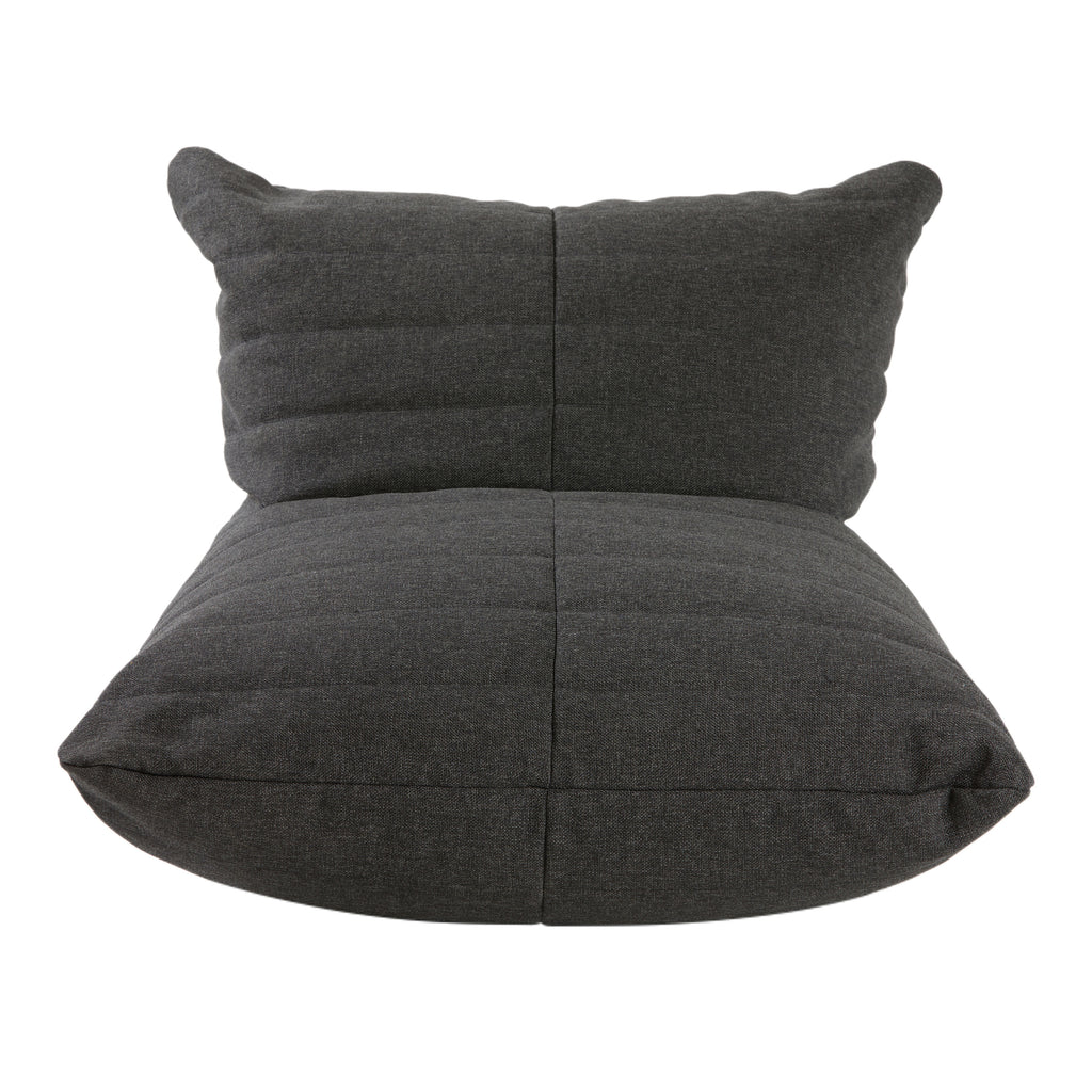 Quilted  Sun Chair :Graphite Gray