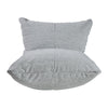 Quilted Sun Chair: Light Pepper Gray