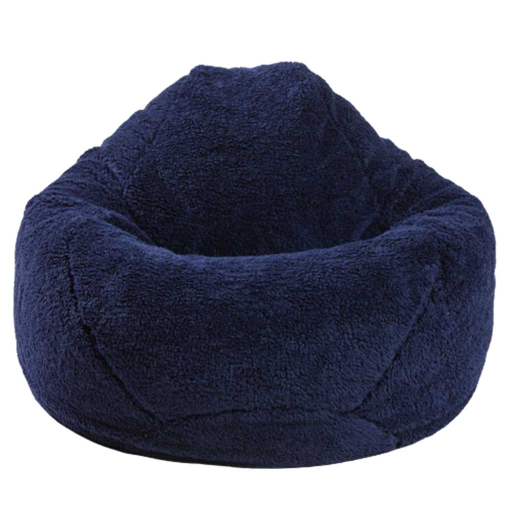KIDS PEAR, COZY SHERPA , NAVY.. Back in stock March 12