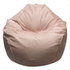 Adult Pear, Faux Leather, BLUSH Beanbag.