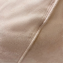 Adult Pear, Faux Leather, Soft Pink Beanbag.