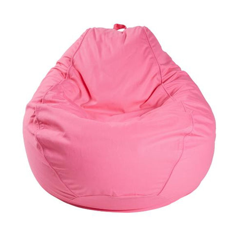 ADULT PEAR TWILL, PINK BEANBAG