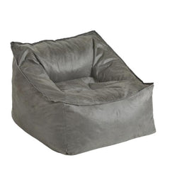 Lounge Faux Leather Charcoal