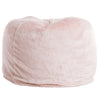 "Fur,40"" NORTHERN RECYCLED FUR, LT-PINK..BACK IN STOCK Feb 28"