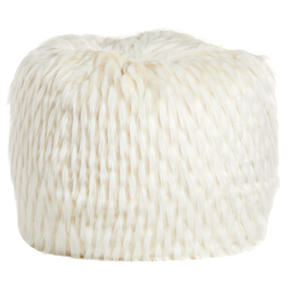 "FUR,40"" LLAMA-IVORY...BACK IN STOCK FEB 28"