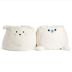 KIDS ROUND,FURRY FRIENDS-BUNNY-SHERPA- KIDS