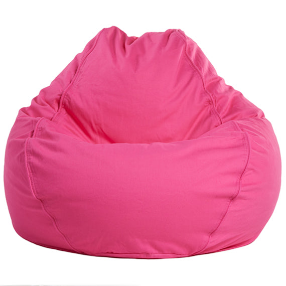 Adult Pear Twill, Medium Pink Beanbag