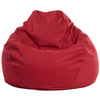 Adult Pear, Twill, Red Beanbag