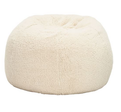 Giant  COZY SHERPA , IVORY...BACK IN STOCK Feb 28
