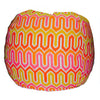 Outdoor Giant -- Ikat, melon/pink