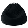 Adult Pear, True Black Beanbag..-C-02-10-BLK