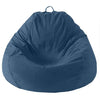 Adult Pear, Twill, DK Blue Beanbag..Back in stock Nov 25