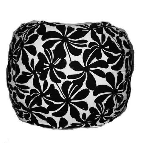 Giant--Swirly black floral