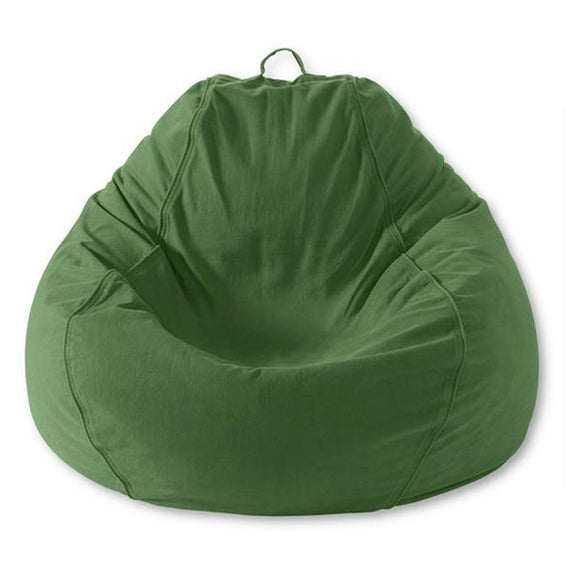 Adult Pear Twill Green Beanbag  sc 1 st  Bean Bag Chairs & Bean Bag Chairs for Adults Pear Shape -- Green Twill u2013 My Bean Bag