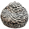Adult Pear, Zebra Beanbag