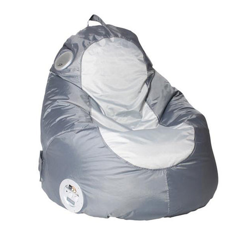 Gaming/Audio Blobby, Nylon, Graphite/Gray Beanbag