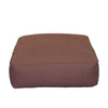 Lounge Sectional, Ottoman Unit, Twill Brown
