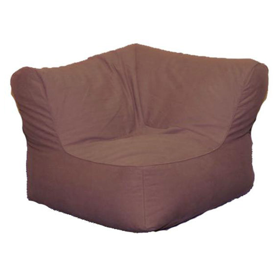 Lounge, Sectional, Corner Unit, Twill, Brown