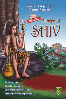 Large Print 6 In 1 Young Readers Magical Stories Of Shiv