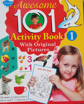 Awesome 101 Activity Book (With Original Pictures)