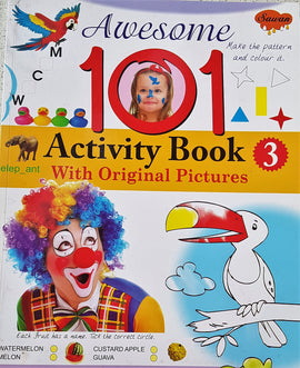 Awesome 101 Activity Book - 3 (With Original Pictures)